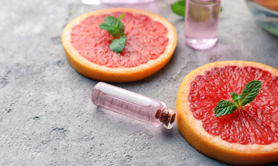 ... mit spritziger Grapefruit.
