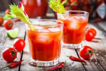 Cocktail mit Tabasco