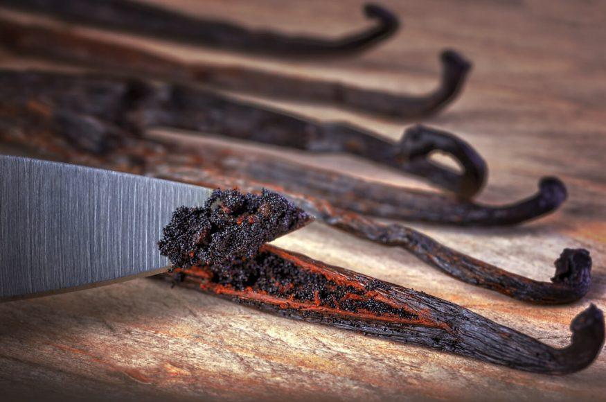 Die Vanille gilt als klassisches Schokoladengewürz ...